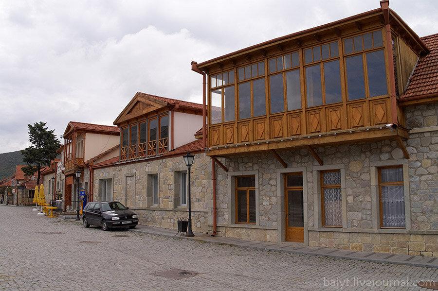 Дома на центральной площади Мцхеты