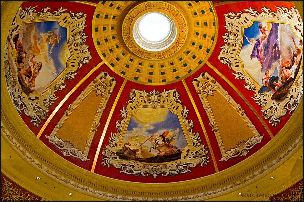 Роспись купола в Венеции