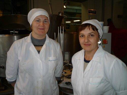 Е. В. Рябова (слева) и Е. А. Боар