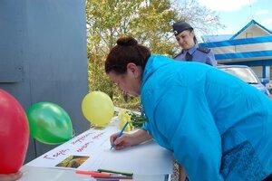 Во Владивостоке инспекторы ДПС провели акцию «Годы, опыт, мудрость, дорога…»