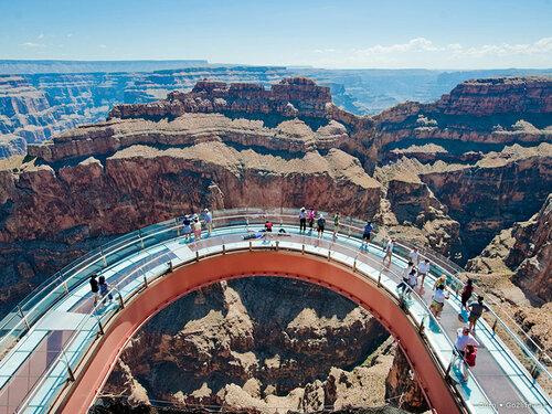 www.Go2life.net • Экстремальный мост Skywalk над Гранд-Каньоном в США