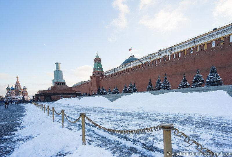 Предновогодняя Москва 2015 . Кремль.