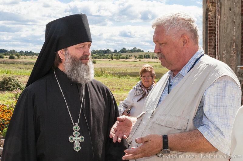 Беседа архимандрита Алексия с писателем Вадимом Арефьевым