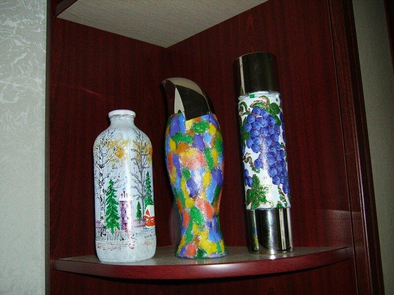 Разрисованные бутылки