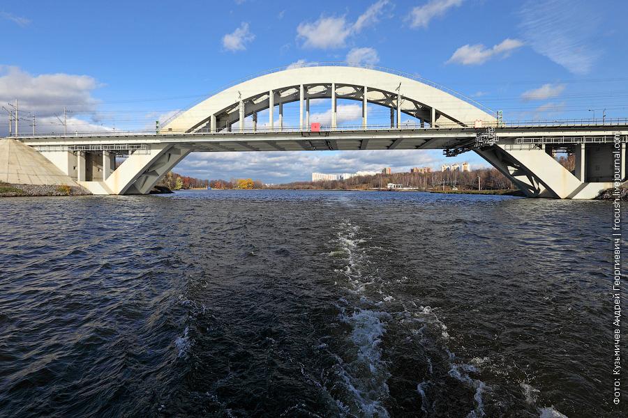 Мост Октябрьской ж/д через КиМ