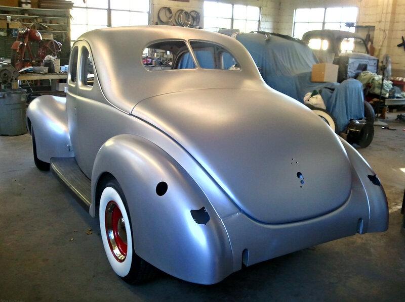 Американский подход: 1940 Ford Coupe образца 2012 года