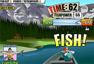 Спортивная рыбалка - рыболовная игра на LENV.RU