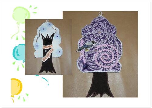 Календарь природы своими руками. Тренинги по шитью. Работа Татьяны Вишневской