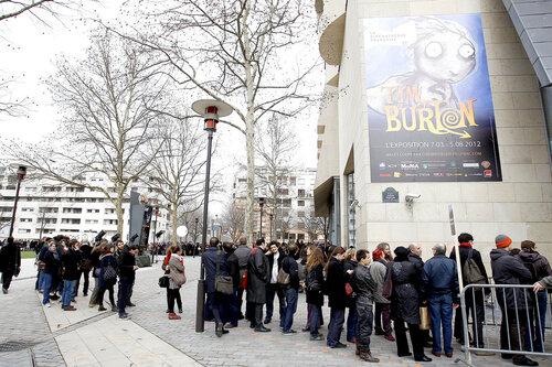 EXPOSITION TIM BURTON, A LA CINEMATHEQUE FRANCAISE