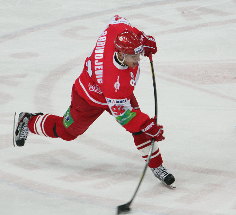 «Спартак» vs «Северсталь» 3:2 ОТ чемпионат КХЛ 2012-2013 (Фото)
