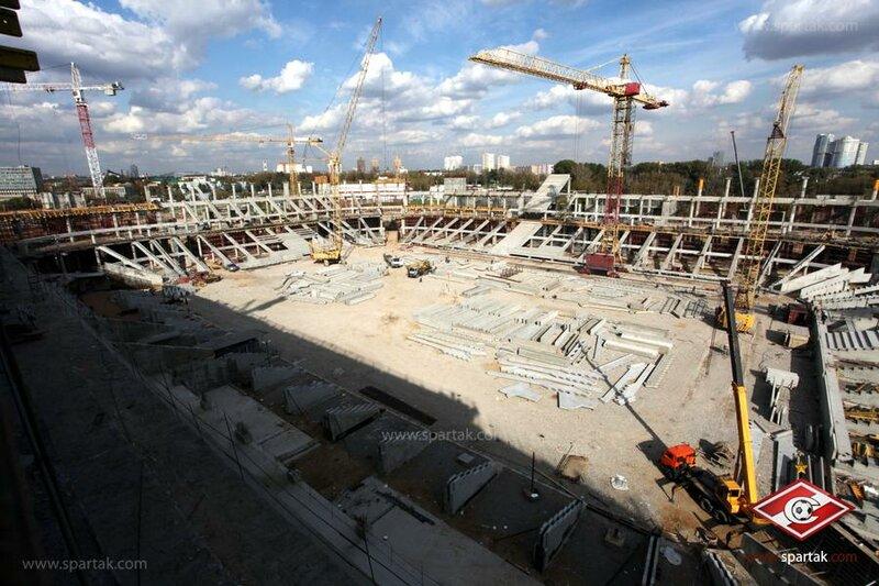 Фоторепортаж: Стадион «Спартак» октябрь 2012 (Фото)