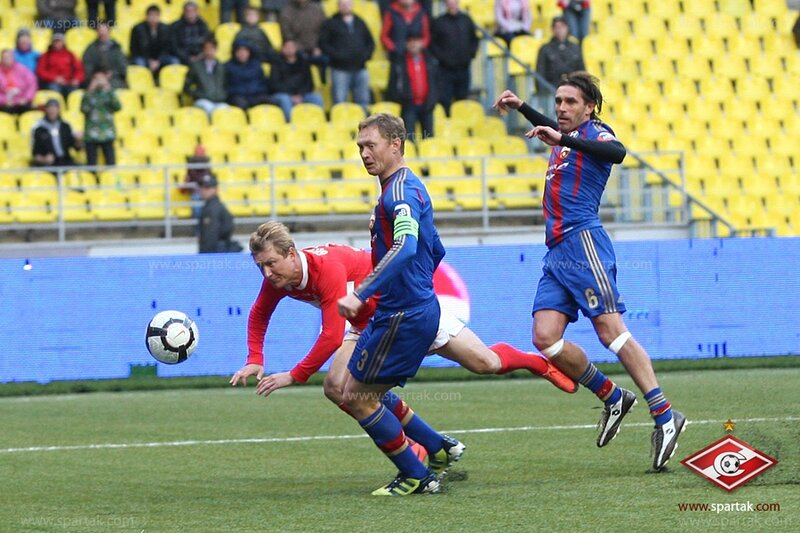 Благотворительный матч Тихонова. «Спартак» vs ЦСКА 2-1 (Фото)