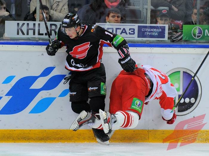«Авангард» vs «Спартак» 5:3 чемпионат КХЛ 2012-2013 (Фото)