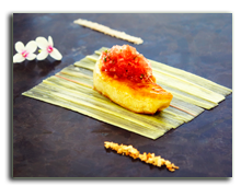 Мальдивы. Viceroy Maldives 5*. Pan Fried Landes Duck Liver Rhubarb Confit