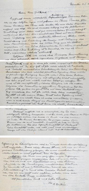 Письмо за 3 миллиона долларов.