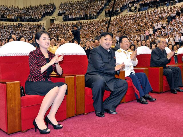 Жена лидера КНДР