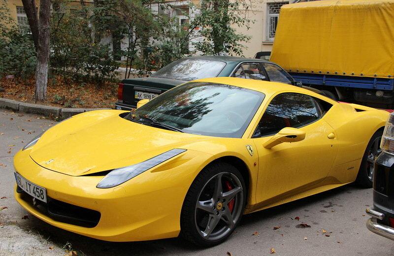 Что не так с этой Ferrari?
