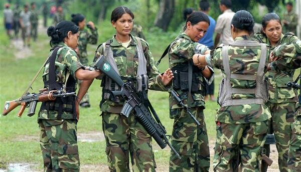 Nepal Maoist People's Liberation Army