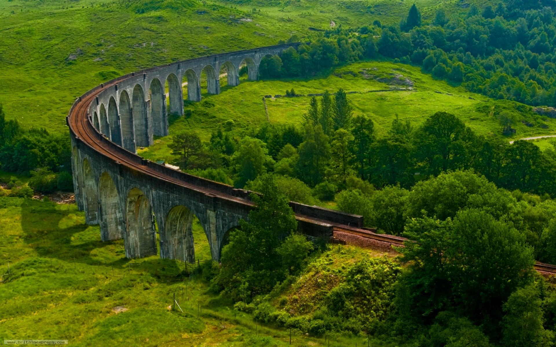 Обои scotland, поезд, forth bridge, вагоны. Разное foto 14