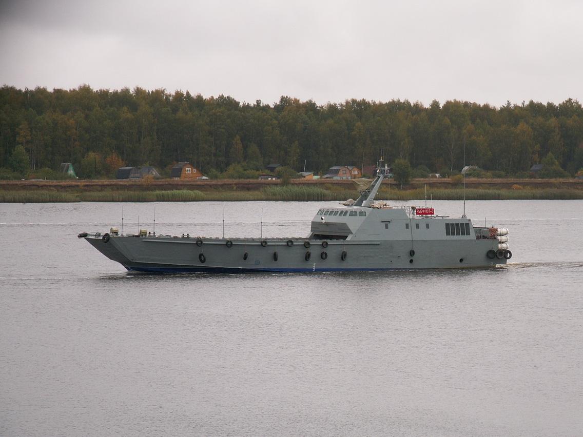 Первый из трех кораблей данной серии