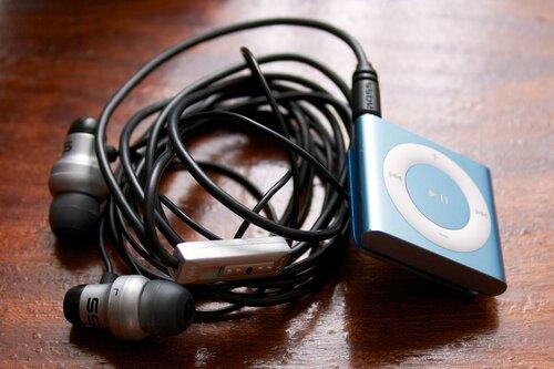 Koss KE29 и iPod Shuffle