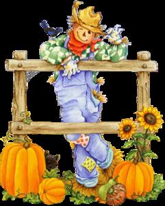 Осенний тыквенный клипарт