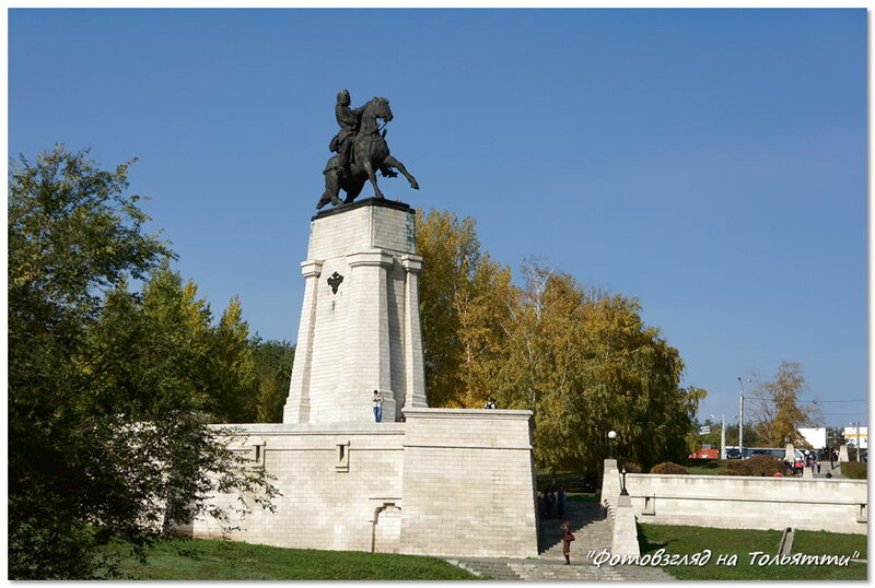 Памятник Василию Татищеву. Тольятти