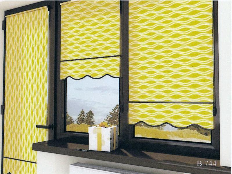 Ролеты из ткани на окна своими руками 52