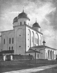 Георгиевский собор Юрьева монастыря близ Новгорода
