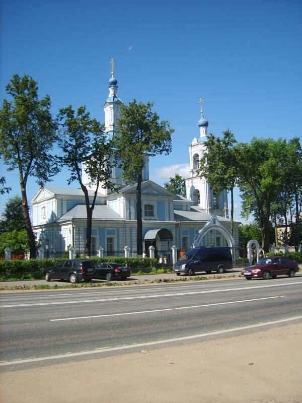 церковь в Перхушково, XVIII век