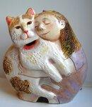 Колокольчик Девочка с котом
