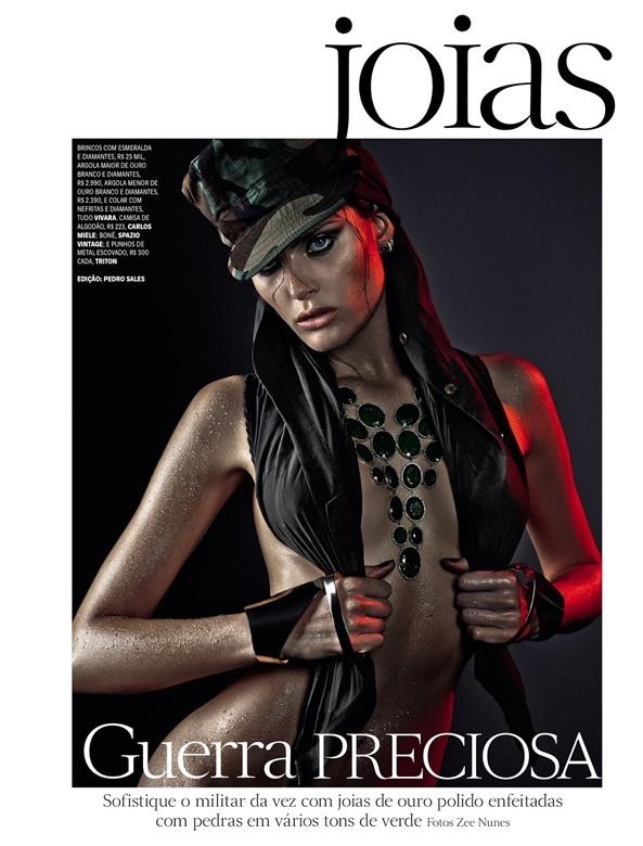 Бразильская модель Изабели Фонтана в журнале Vogue. Фотографии 0 141b10 ea9c34a4 orig