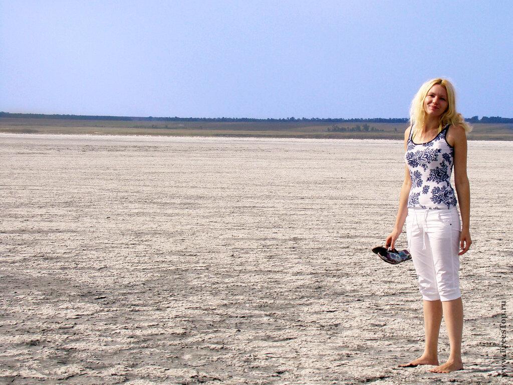 высохшее озеро в ставропольском крае, солёное озеро