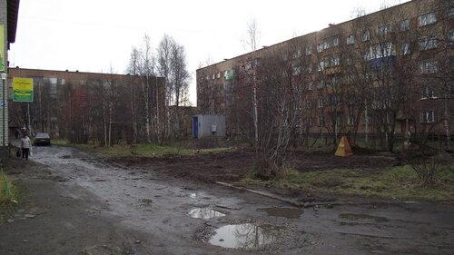 Фотография Инты №2040  Дзержинского 27, 25 и Мира 29 12.10.2012_13:17