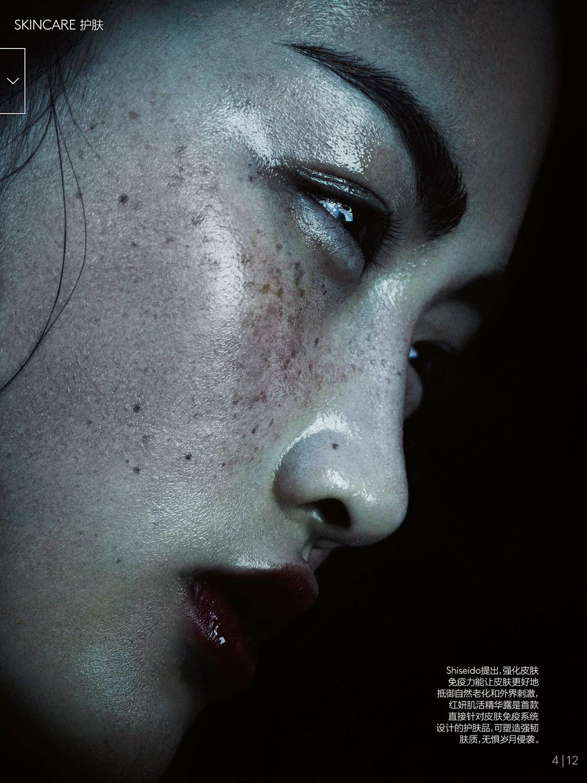 Цзин Вэнь (Jing Wen) в журнале Vogue China