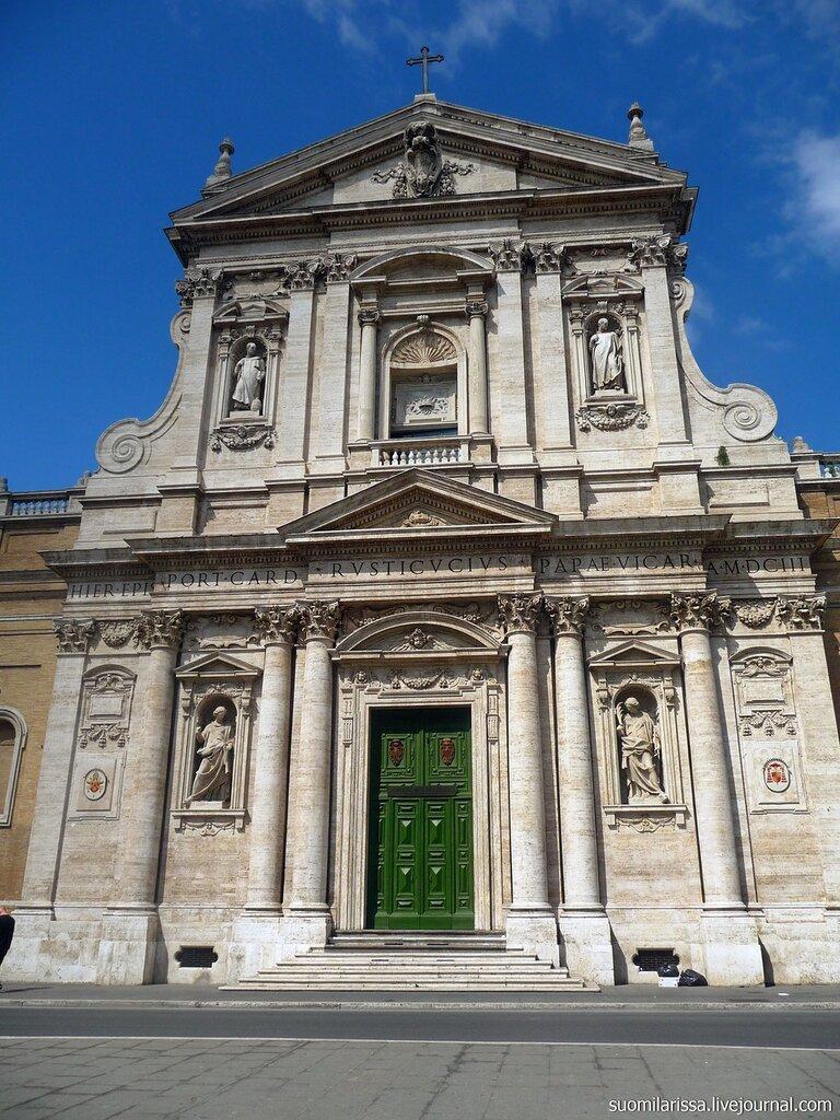 Церковь Св. Сусанны, барокко, 1603 г.