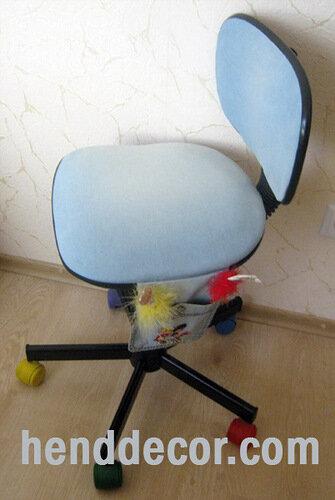 Как своими руками преобразить старый стул фото 859