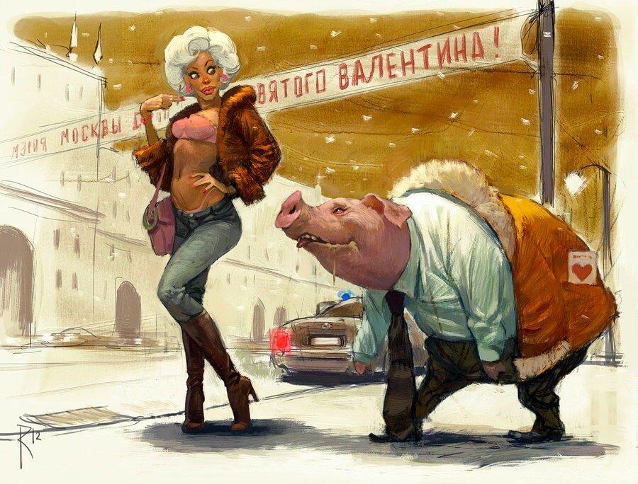 Художник-иллюстратор Владимир Казак