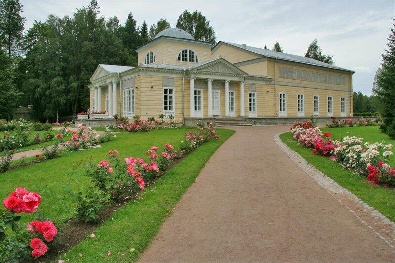 Розовый павильон, Павловск
