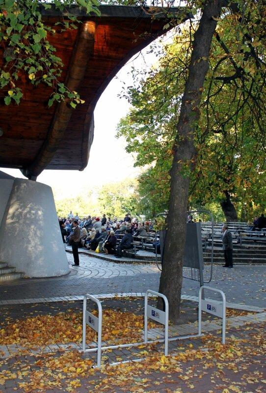 Новая велопарковка в Мариинском парке