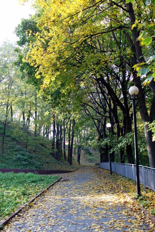 Осень на Владимирской горке