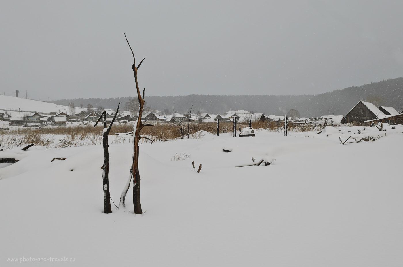 Фото 9. До обработки – всё серое. Почему при неправильной настройке экспозиции при съемке зимой фотки получаются темными. 1/125, 8.0, 160, 17. Камера Nikon D5100 с объективом Nikon 17-55/2.8.