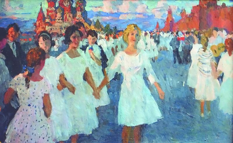 Федосов Никита Петрович. 1 мая 1963.