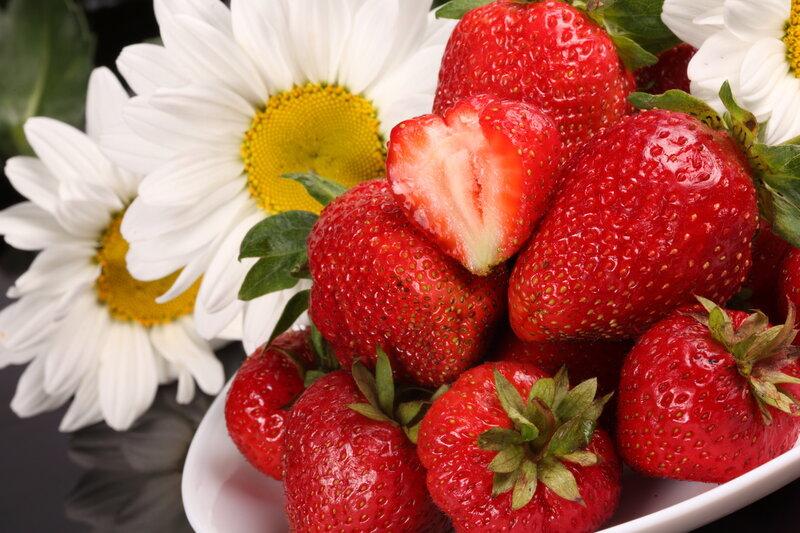 ягоды и цветы картинки 8