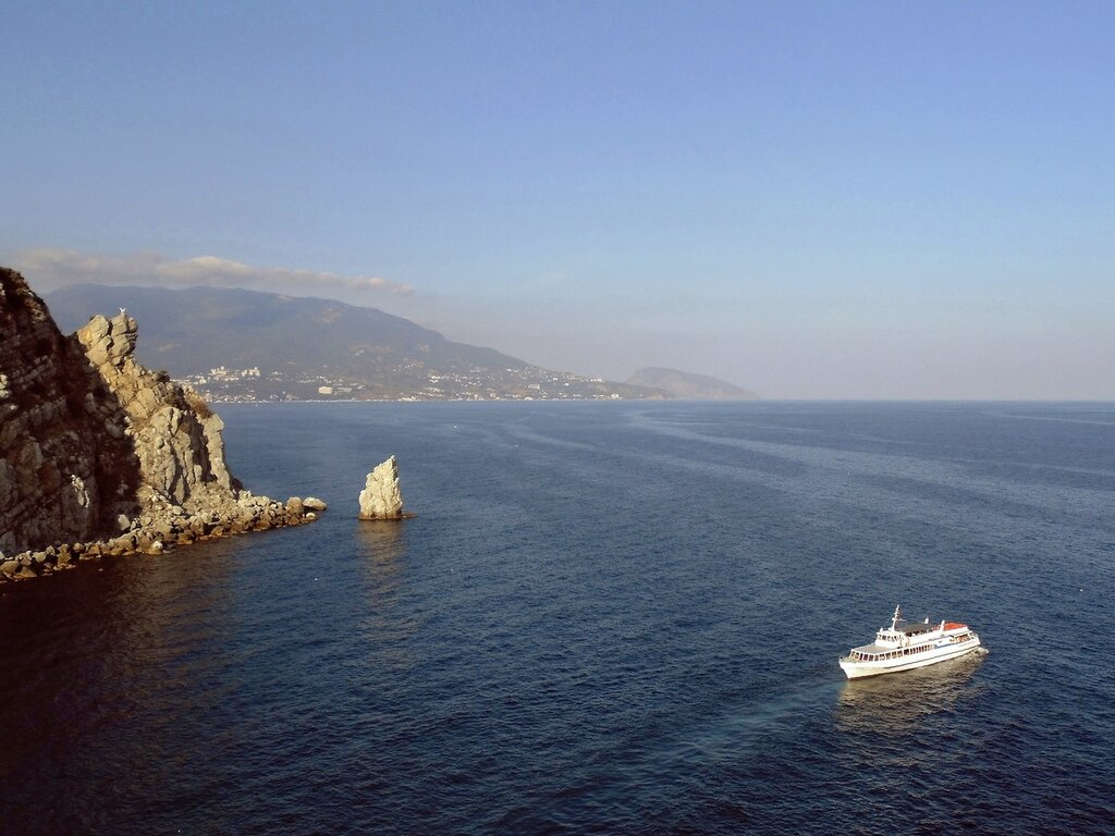 Крым, Южный берег, Ласточкино Гнездо
