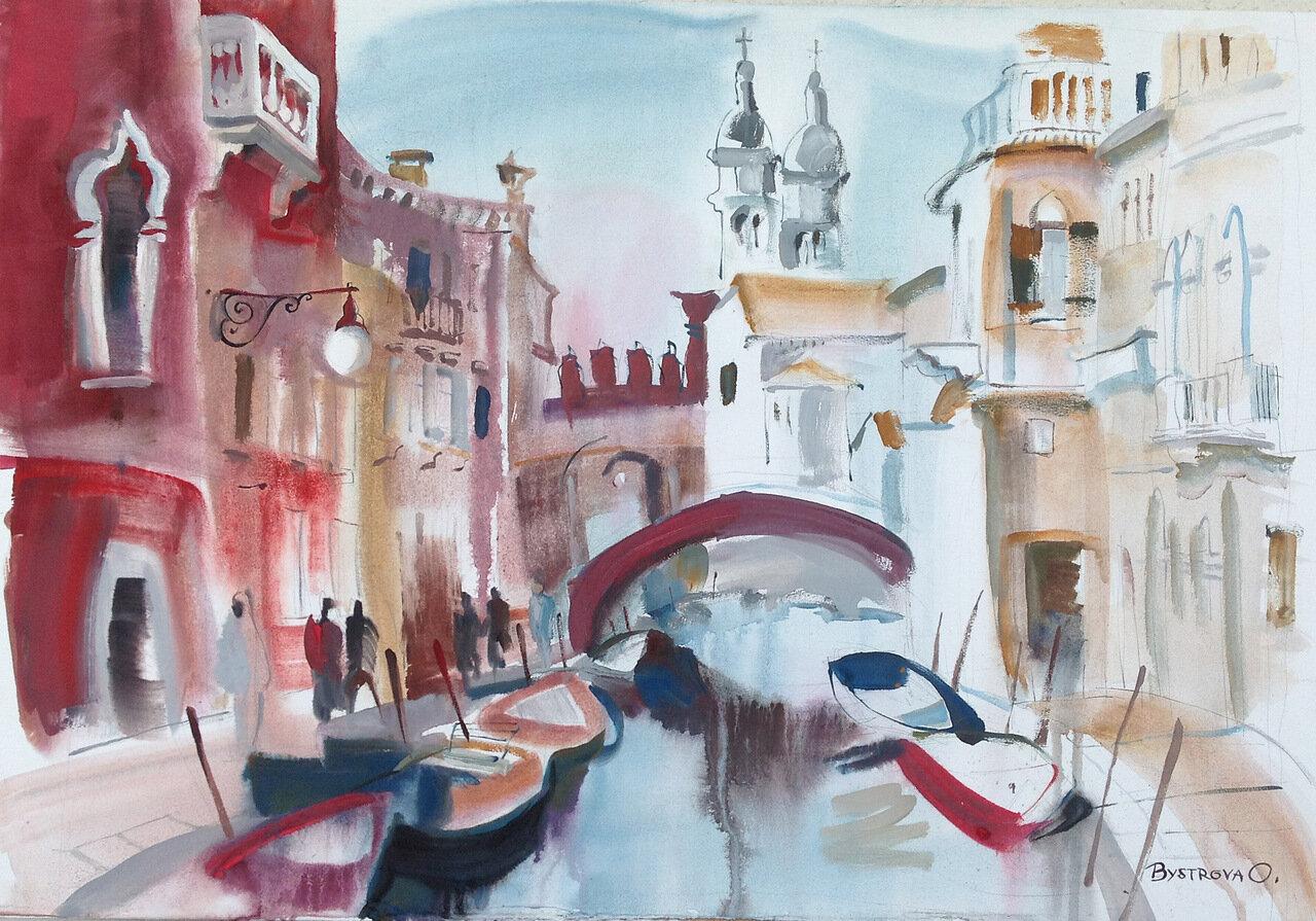 012 h. Venise. Bon journee