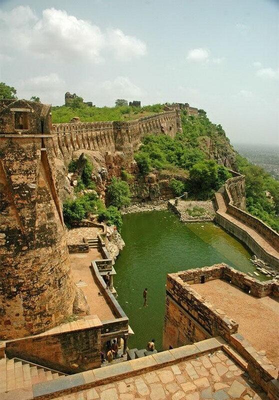 Форт Читторгарх. Индия