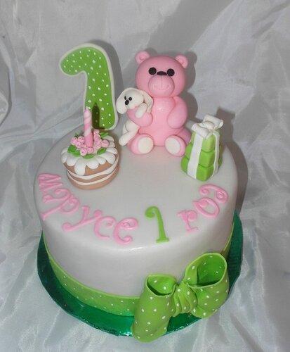 Фигурки из мастики для детского торта 1 год
