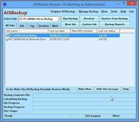 резервное копирование файлов и папок