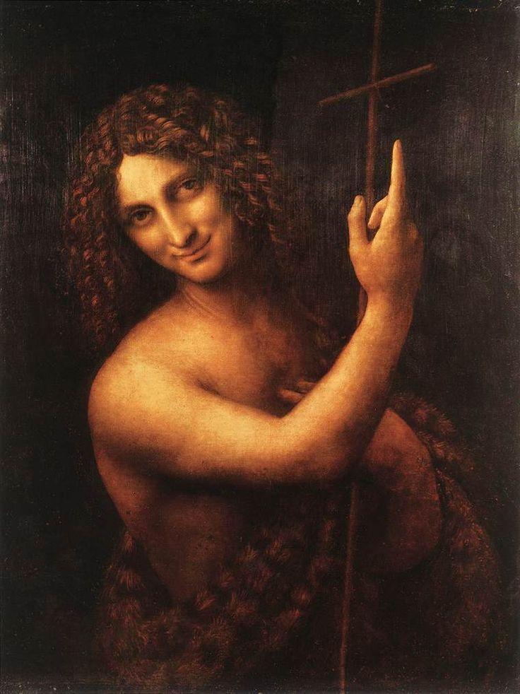 Leonardo da Vinci Saint John the Baptist_